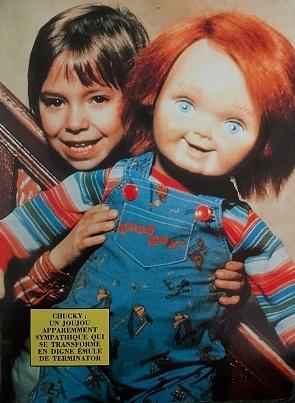Héros film Chucky avec poupée Good Guys