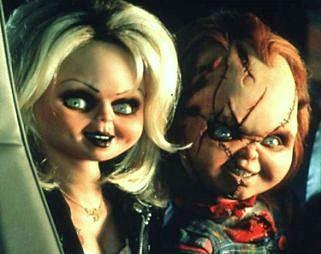 Poupées Chuckyt et sa fiancée