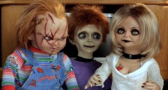 Famille Chucky fiancée et fils de Chucky