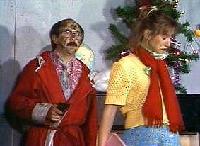 Gérard Jugnot et Marie Anne Chazel pièce théatre Le Père Noël est une ordure années 80