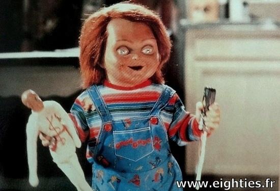 Chucky poupée tueuse années 80