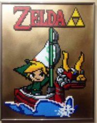 Cadre Zelda par Pix'ailes