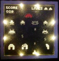 Cadre Space Invaders par Pix'ailes