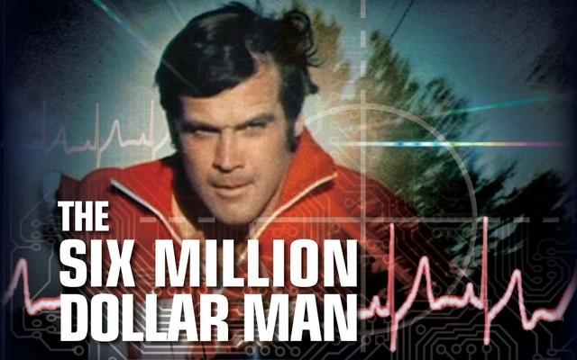 Série l'homme qui valait 3 milliards bionique années 80