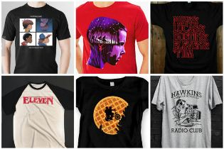 Collection T Shirt stranger things