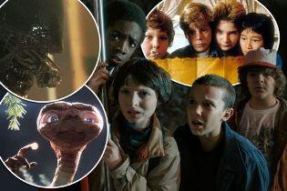 Sréie Stranger Things série hommage aux années 80 références ET Aliens Goonies