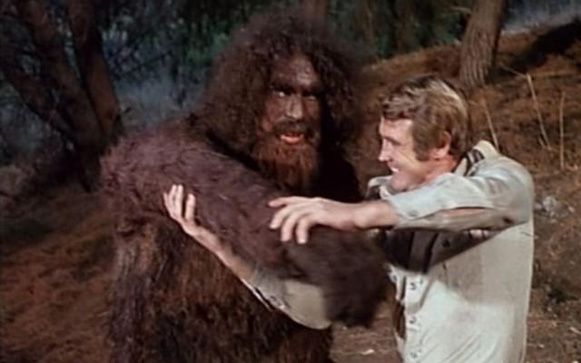 Série l'homme qui valait 3 milliards Bigfoot années 80