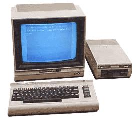 Commodore 64 ordinateur des années 80