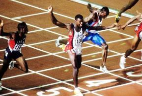 Carl Lewis Athlétisme années 80