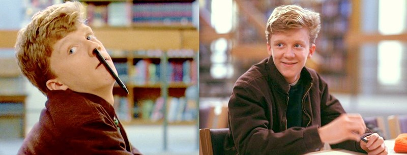 The Breakfast Club Anthony Michael Hall années 80