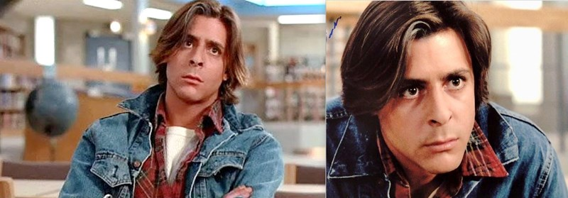 The Breakfast Club Judd Nelson années 80