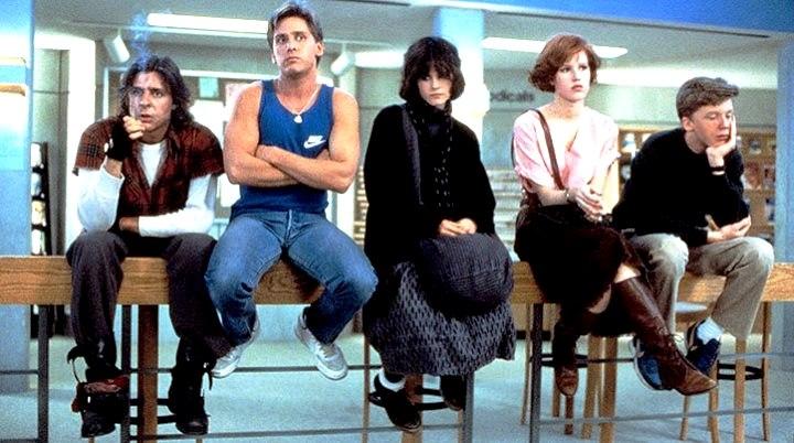 The Breakfast Club années 80