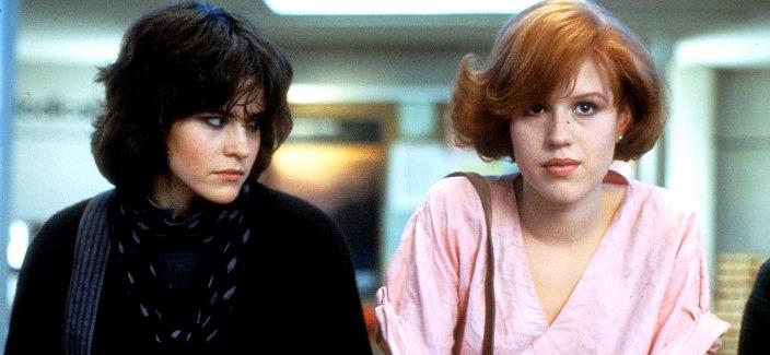 The Breakfast Club Ally Sheedy Molly Ringwald années 80