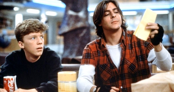 The Breakfast Club Judd Nelson Anthony Michael Hall Brat Pack