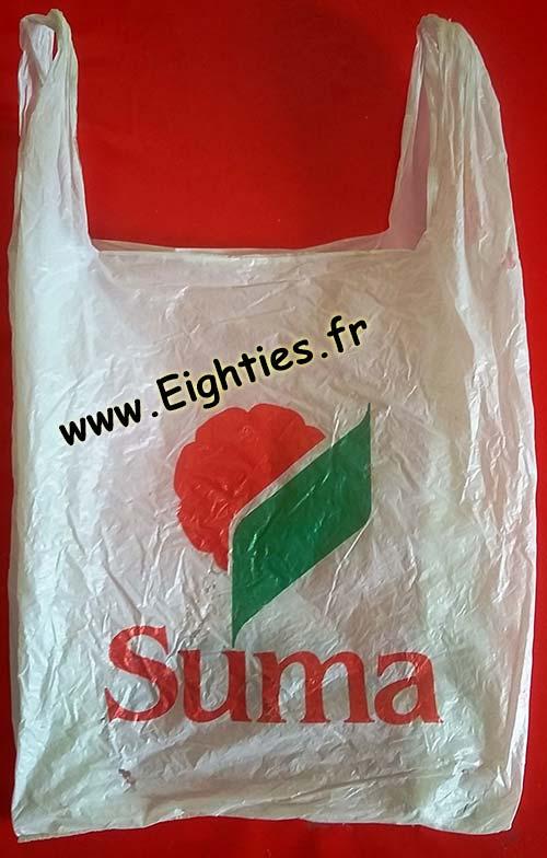 Sac plastique Suma années 90