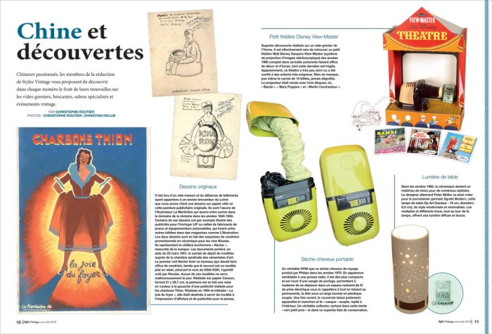 Styles Vintage 1 article Chine