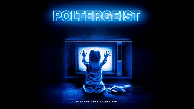 Poltergeist cinema années 80 - Affiche film - Eighties